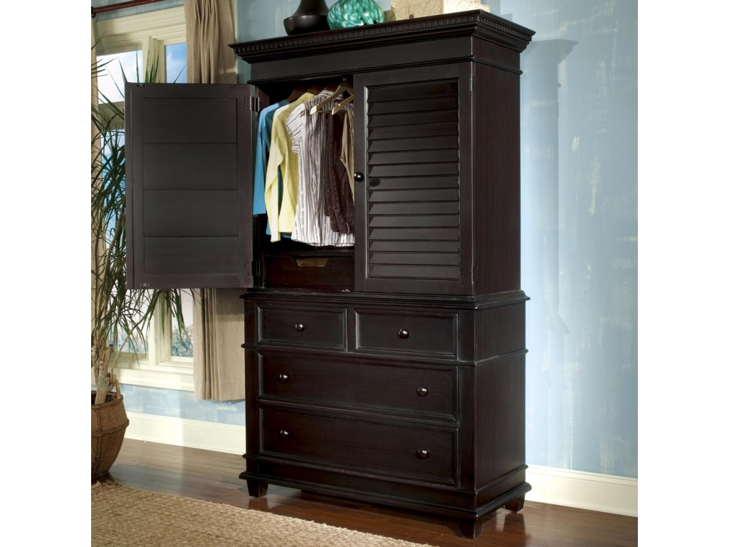 Linwood Furniture Villages of Gulf BreezeSingle Dresser with Door Hutch