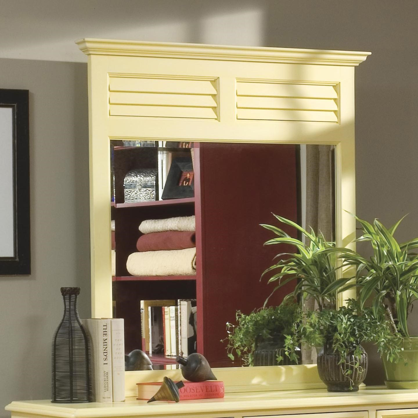 Linwood Furniture Villages Of Gulf Breeze Landscape Wall Mirror Find Your Furniture Dresser Mirror
