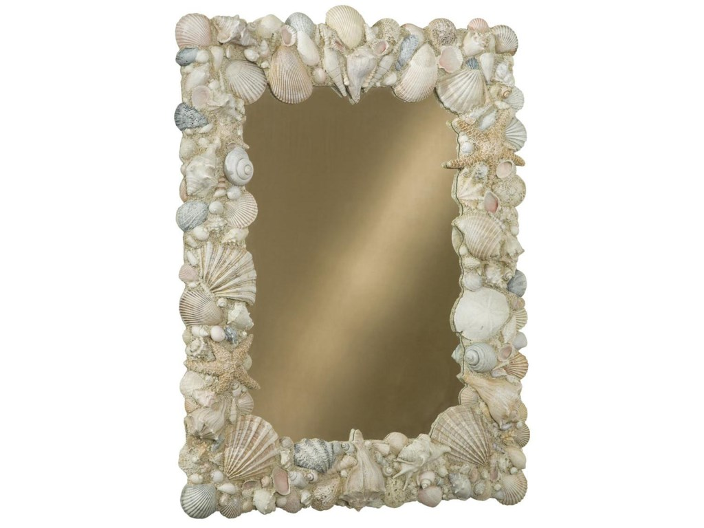Linwood Furniture Villages of Gulf BreezeVertical Hand Painted Shell Mirror