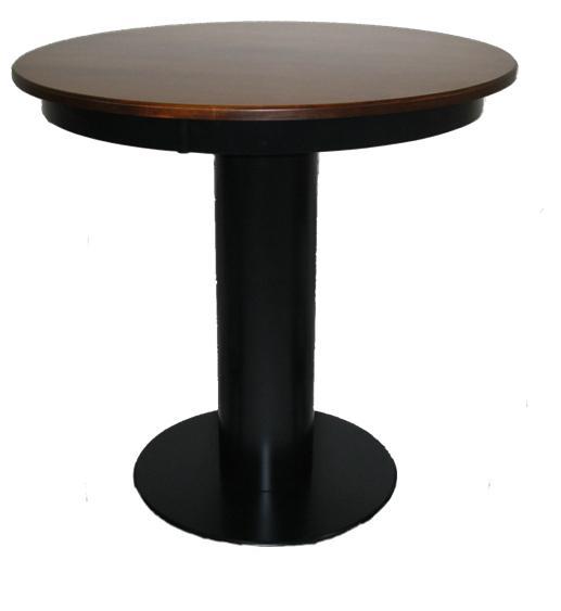Bistro Barrel Base Pub Table By L.J. Gascho Furniture