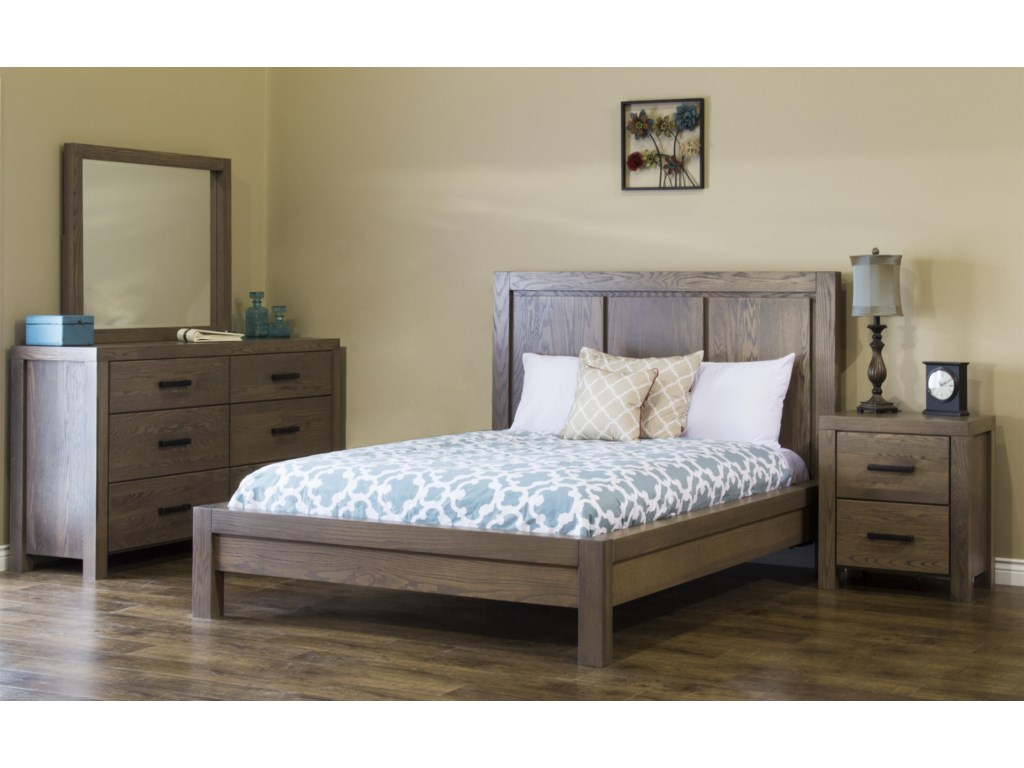 American Amish Canyon LakeKing Bedroom Group