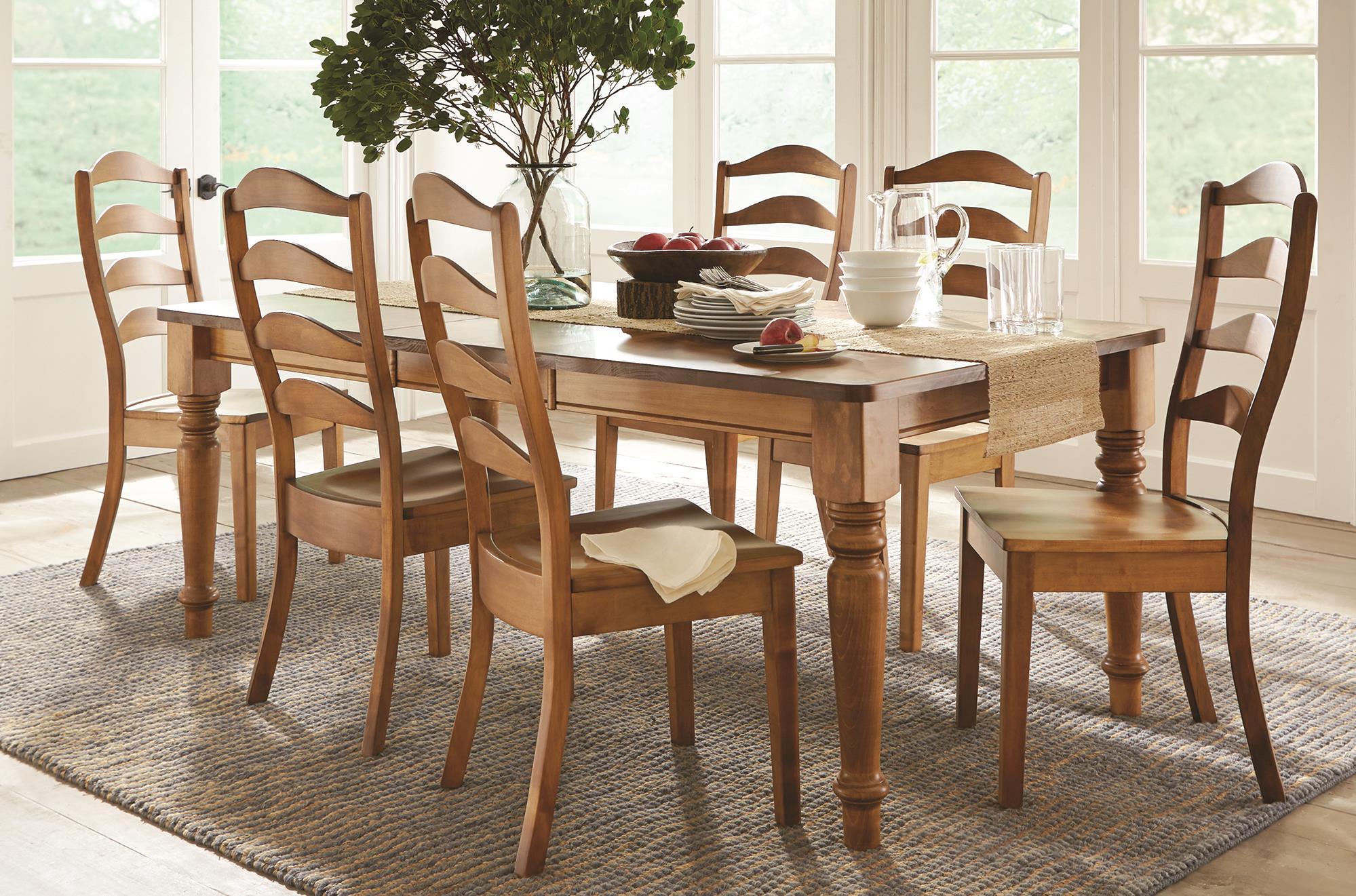 L.J. Gascho Furniture ColfaxColfax 5 Piece Solid Wood Dining Set
