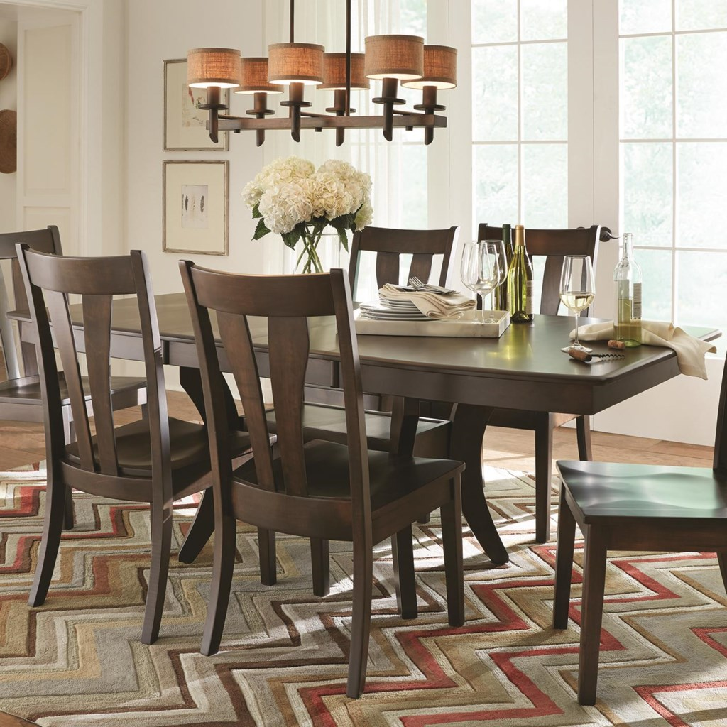 american amish covina dining table with solid wood top darvin american amish covina dining table with solid wood top darvin furniture dining room table