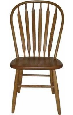 American Amish Solid Wood Dining SetsBent Paddle Side Chair