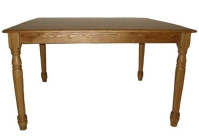 Charmant Hudson Solid Wood Square Table With Turned Legs By L.J. Gascho Furniture
