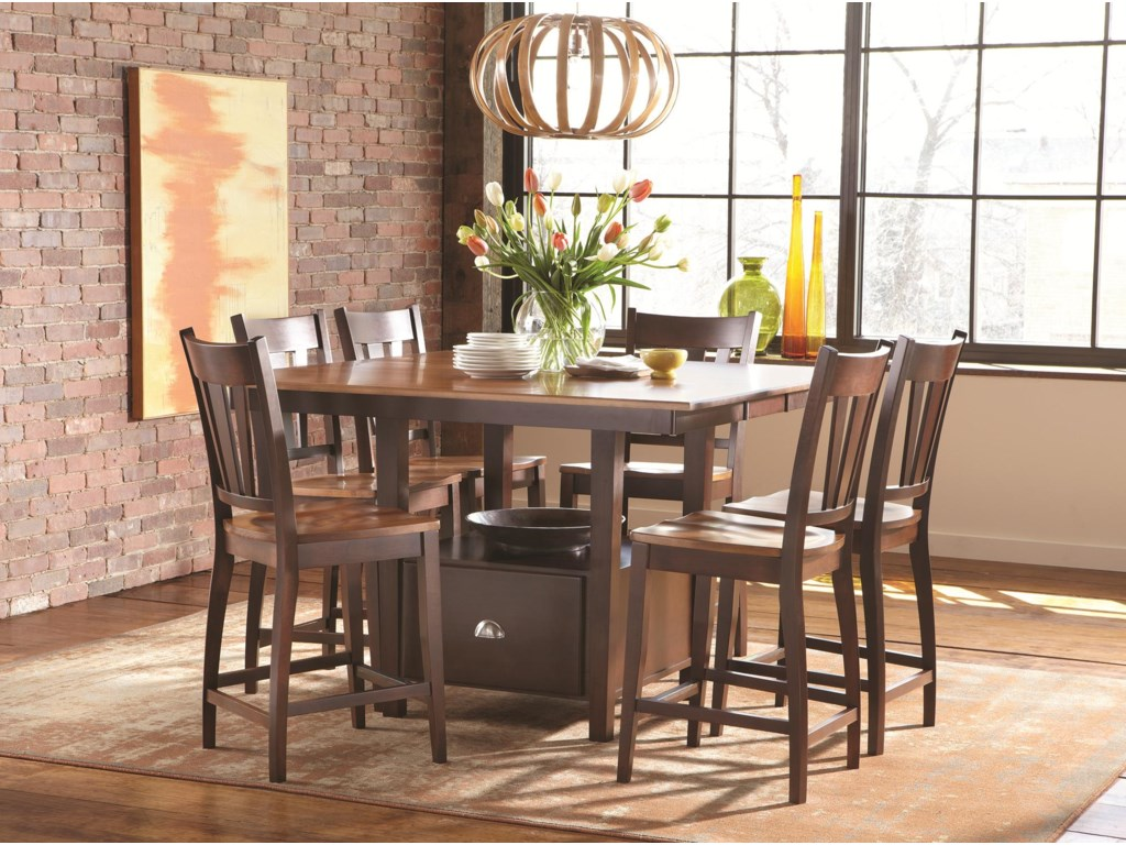 dining table with built in bench seat