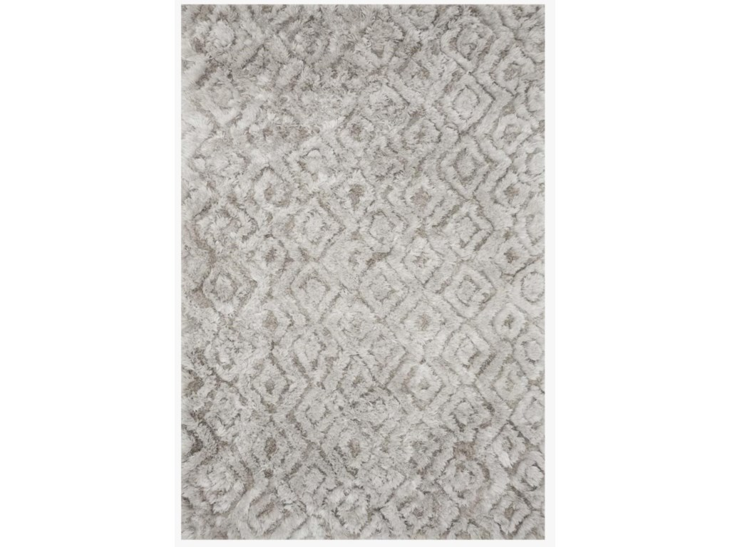 Reeds Rugs CASPIA5 X 7-6 Silver Area Rug