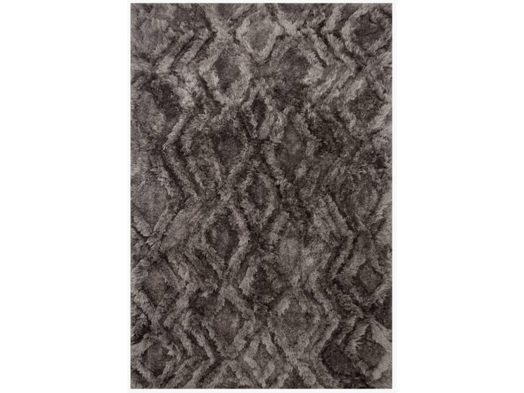 Reeds Rugs CASPIA5-0 X 7-6 Charcoal Area Rug