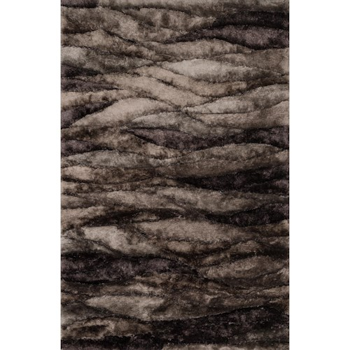 Loloi Rugs Glamour Shag 7 10 X 11 0 Area Rug Howell Furniture