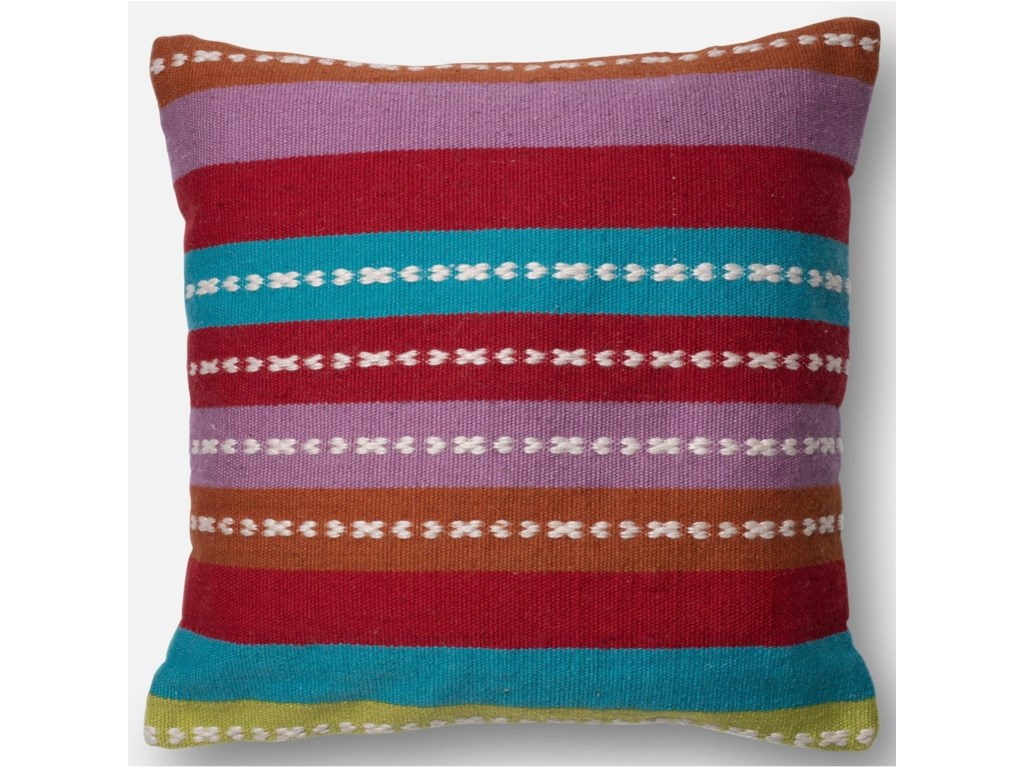 Loloi Rugs Indoor Outdoor Multi 22 X Down Pillow