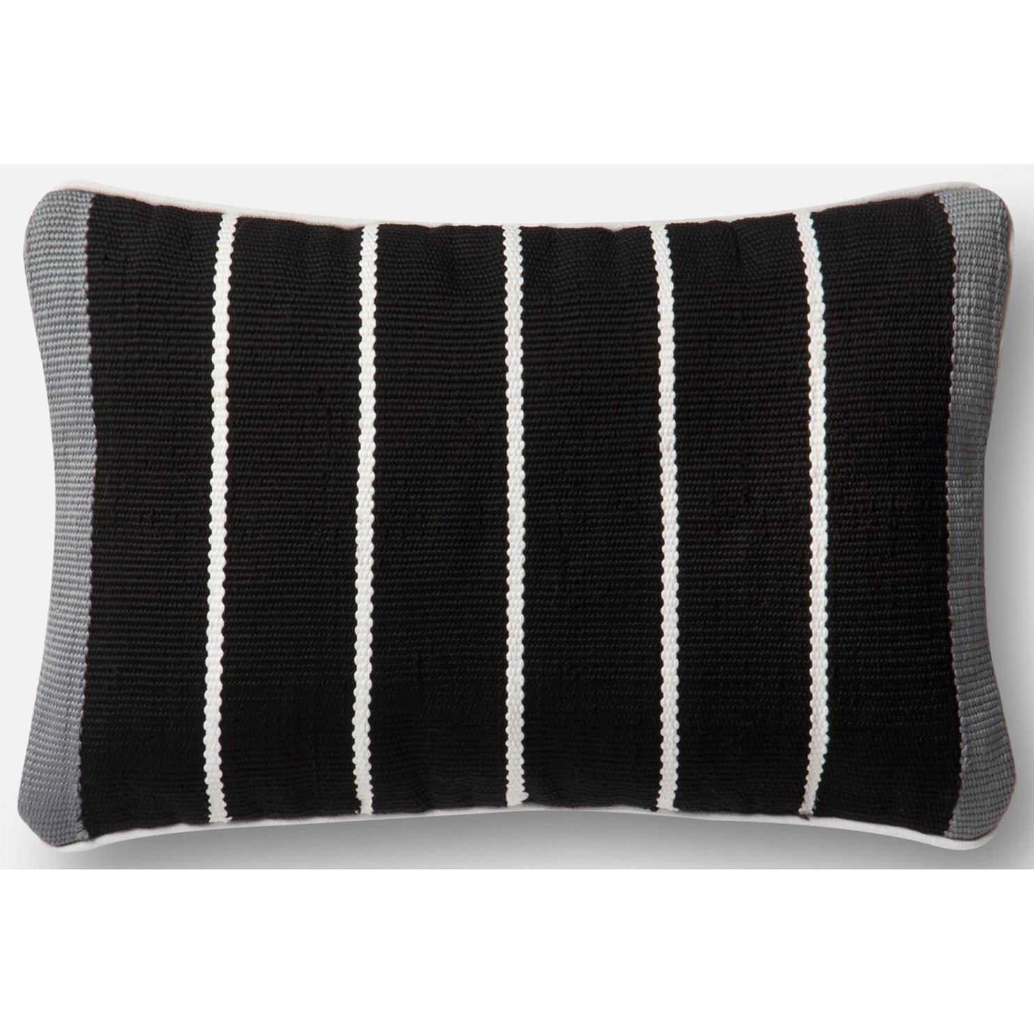 Loloi Poly Set Black Grey Decorative Accent Pillow 13 X 21 Cover Throw Pillows Decorative Pillows Inserts Covers