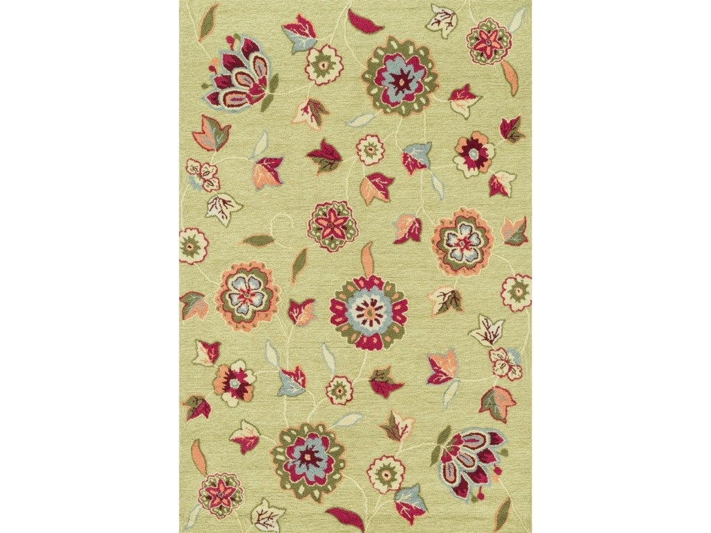 Juliana 5 0 X 7 6 Green Area Rug By Loloi Rugs Collection