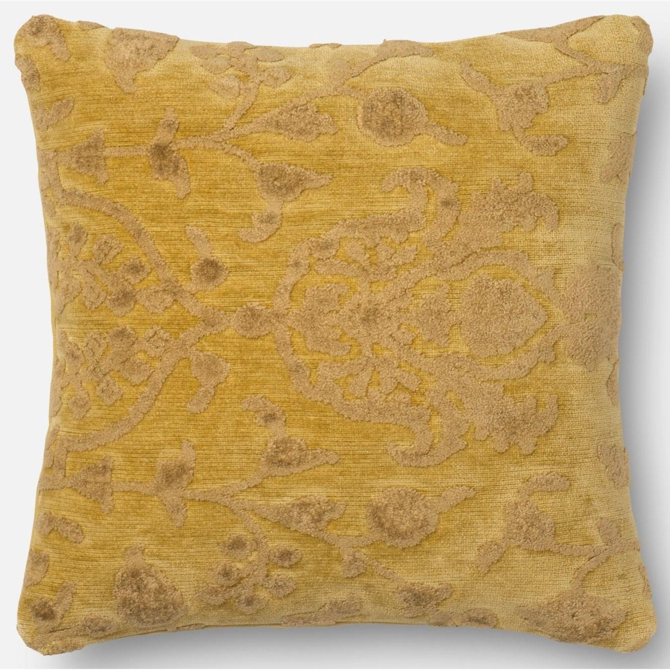 "Citron 18"" X 18"" Polyester Pillow"