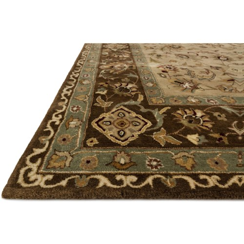 Loloi Rugs Yorkshire 7 10 X 11 0 Beige Brown Area Rug Howell