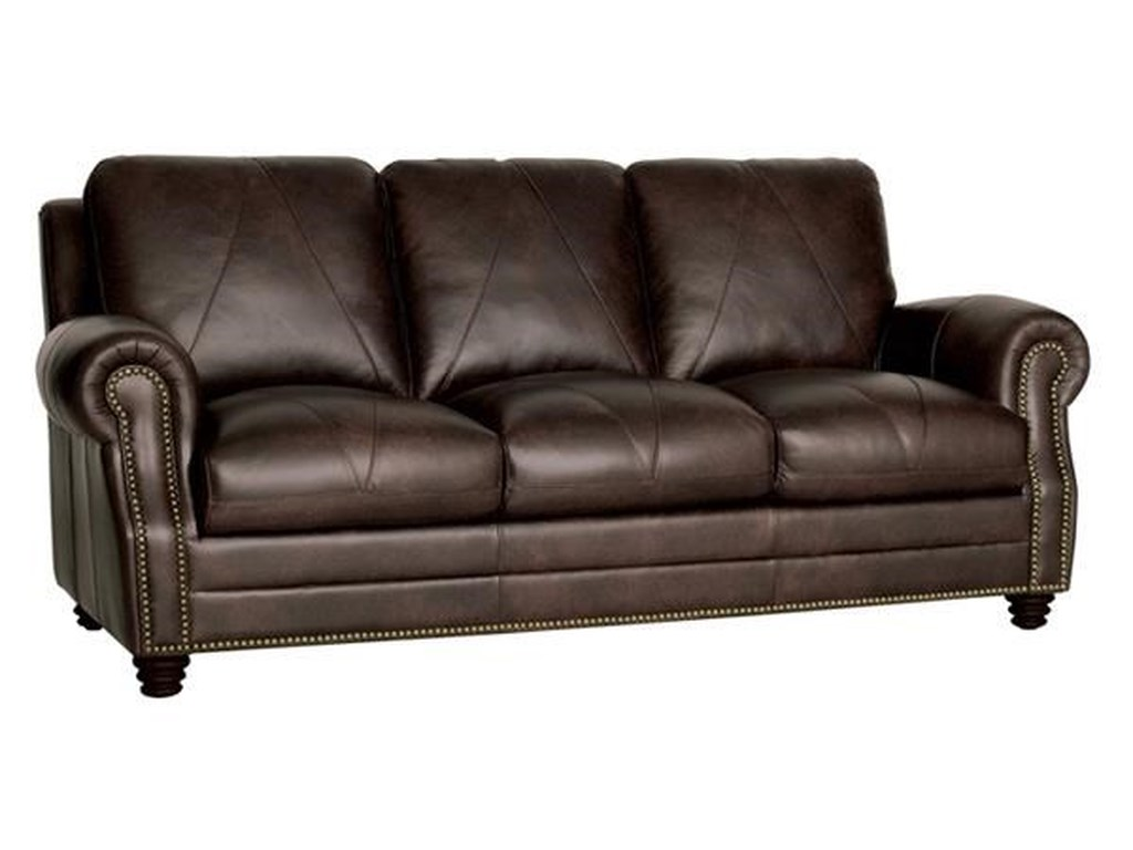 Luke Leather Solomon Italian Sofa