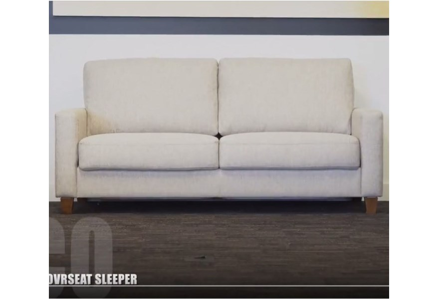 Luonto Nico Contemporary Queen Size Sleeper Sofa | Sprintz ...