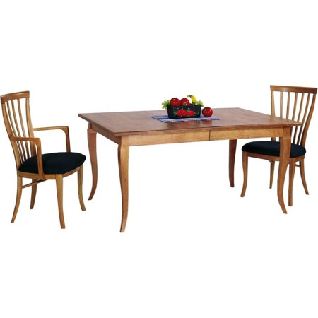<b>Custom</b> French Country Extension Table