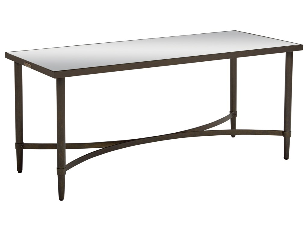 Magnolia Home By Joanna Gaines Accent Elements Coffee Table With Mirror Top Great American Home Store Cocktail Coffee Tables