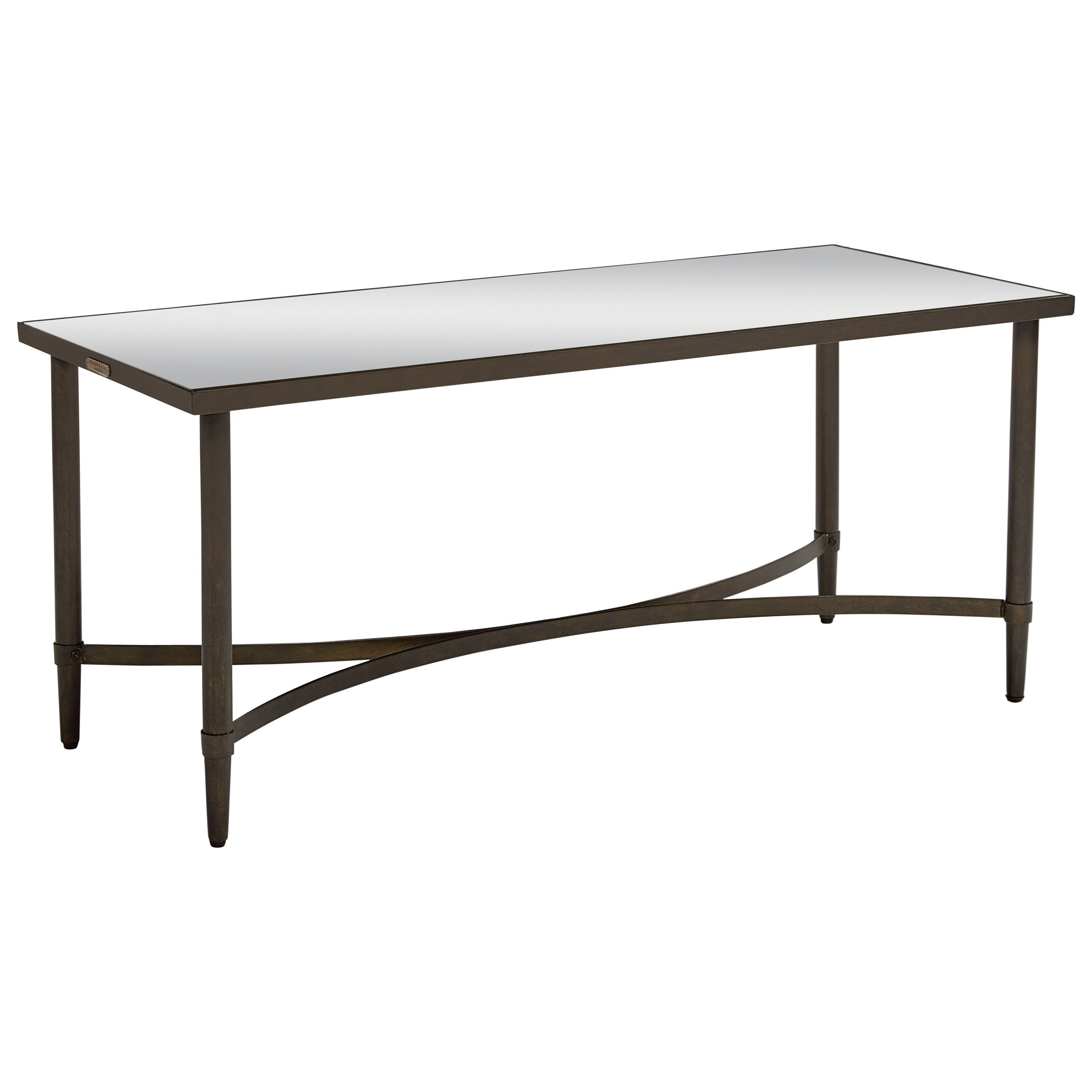 Magnolia Home By Joanna Gaines Accent Elements Coffee Table With Mirror Top    Great American Home Store   Cocktail/Coffee Tables