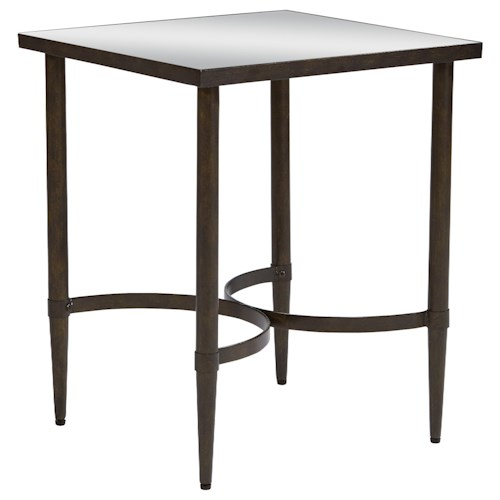 Magnolia Home by Joanna Gaines Accent Elements End Table with Mirrored Top