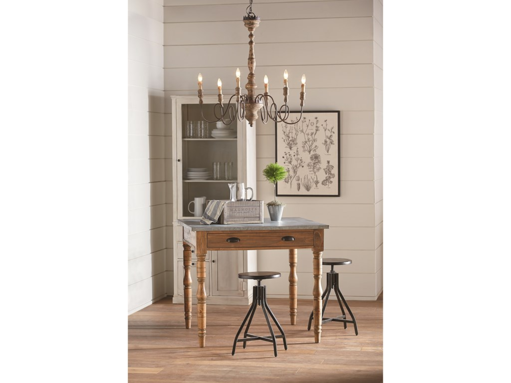 Magnolia Home by Joanna Gaines Accent ElementsIndustrial Stool