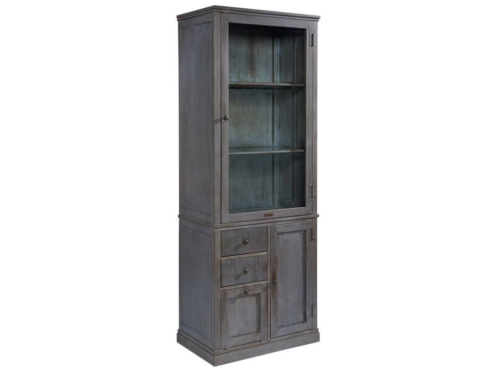 Accent cabinet with glass doors - Magnolia Home By Joanna Gaines Accent Elements Metal Storage Cabinet With Glass Door Great American Home Store Accent Chests