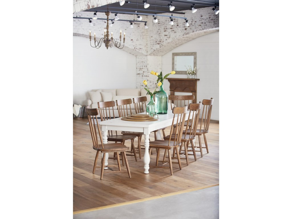 Magnolia Home By Joanna Gaines Farmhousevase Turned Dining Table
