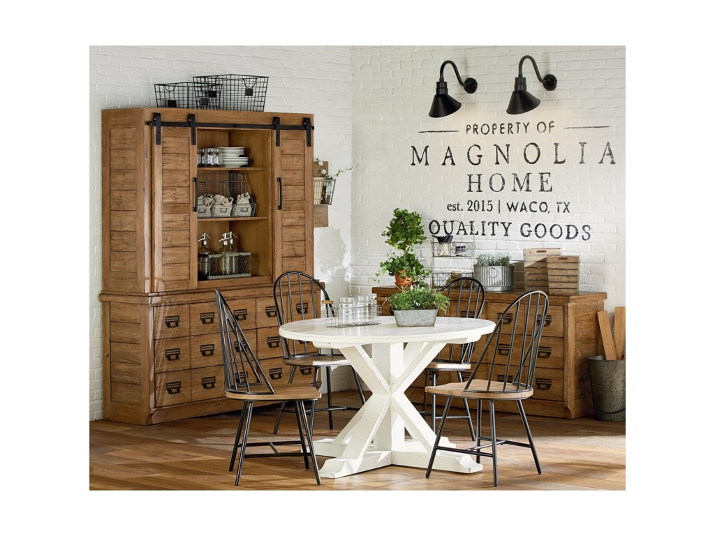 Magnolia Home by Joanna Gaines FarmhouseChilders Round Table
