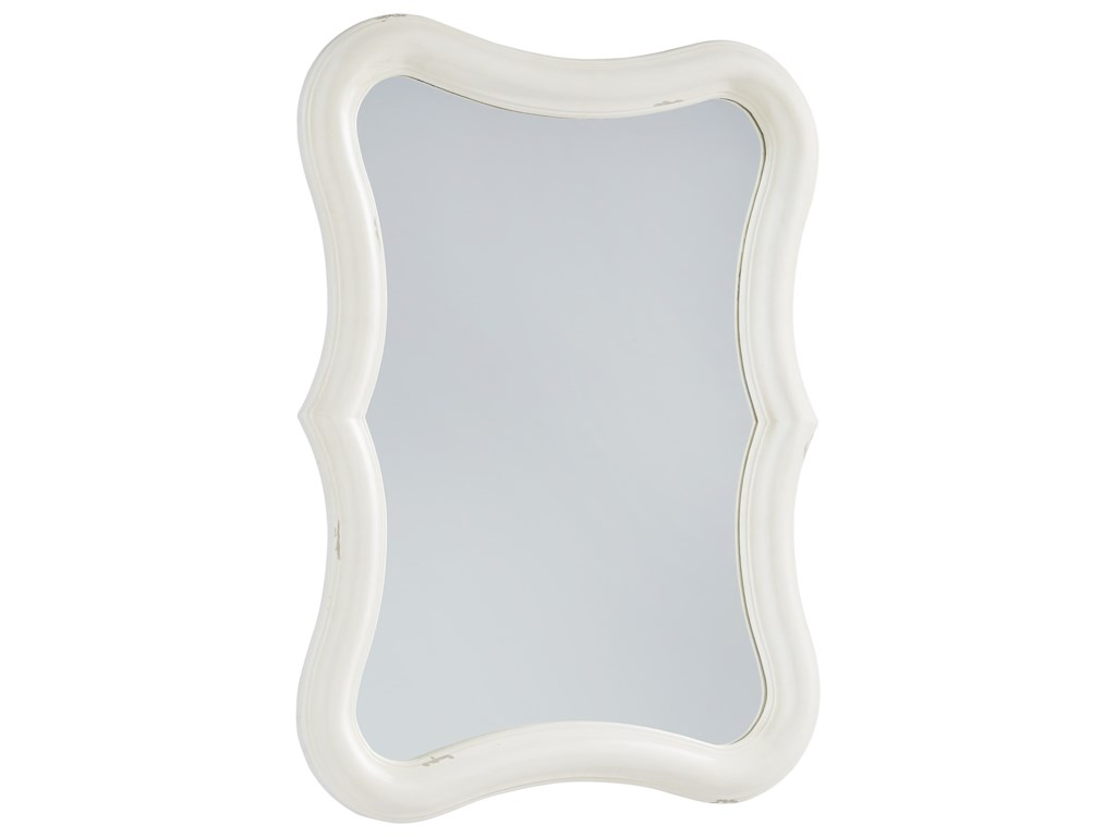 Magnolia Home by Joanna Gaines French InspiredSilhouette Mirror - Jo's White