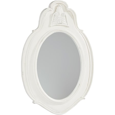 Small Cameo Mirror - Jo's White