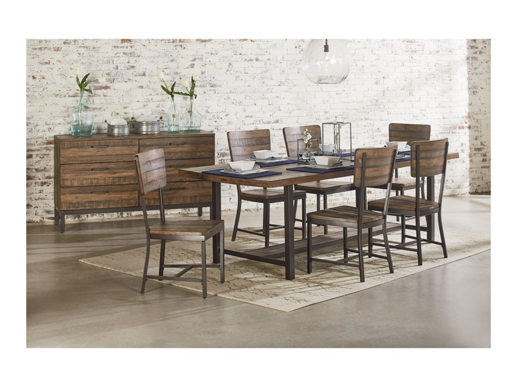 Magnolia Home by Joanna Gaines IndustrialDining Table