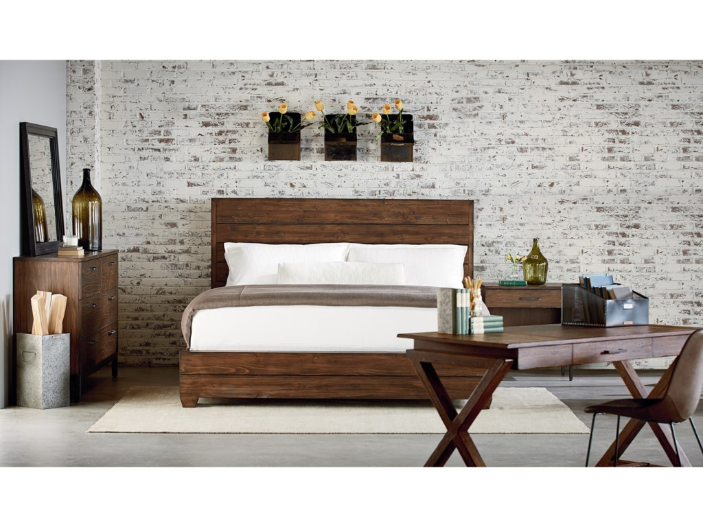 Magnolia Home by Joanna Gaines IndustrialKing Headboard and Footboard Bed