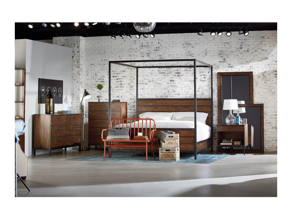 Magnolia Home by Joanna Gaines IndustrialNightstand