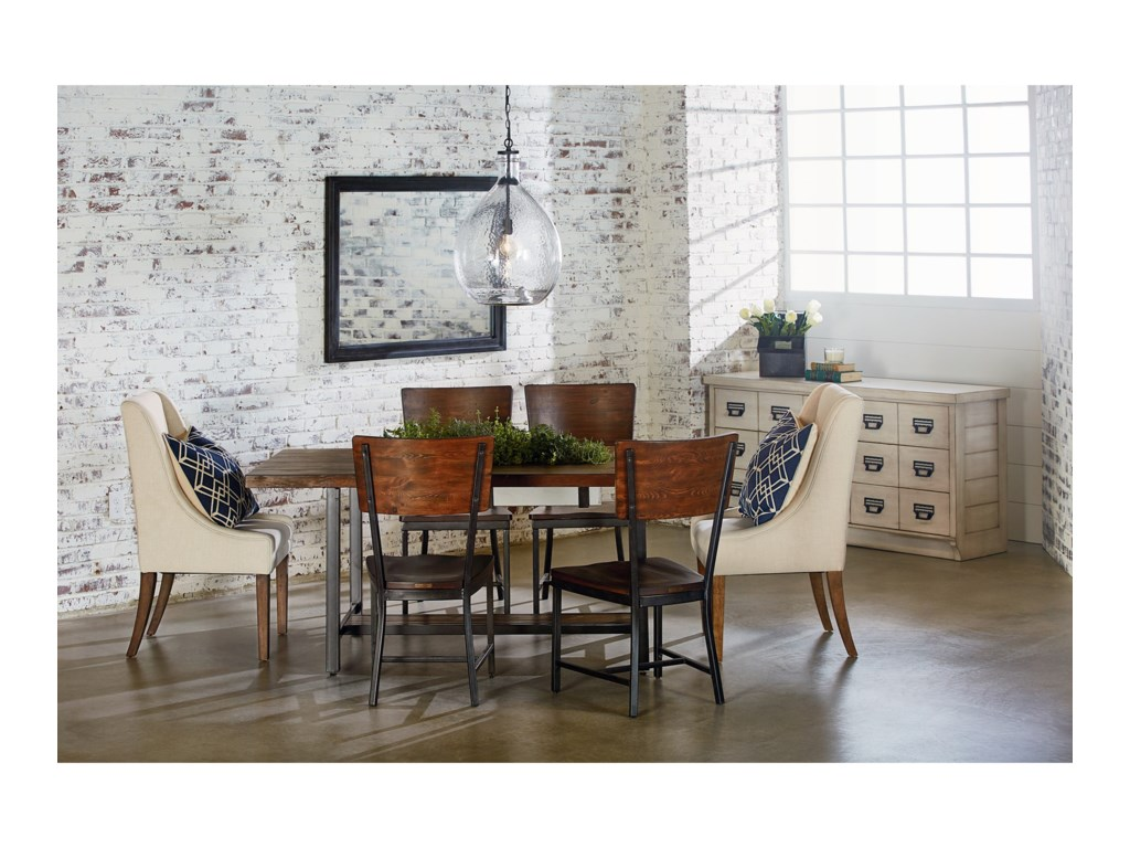 Magnolia Home by Joanna Gaines IndustrialIndustrial Dining Room with 84