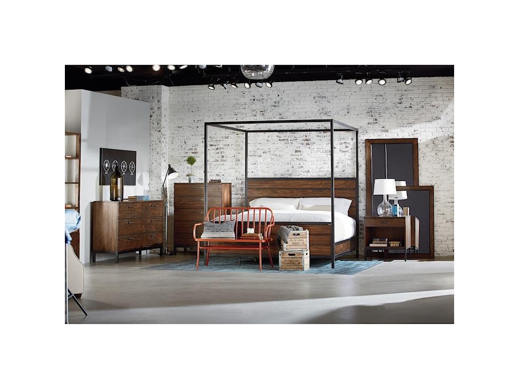 Magnolia Home By Joanna Gaines IndustrialQueen Bedroom Group