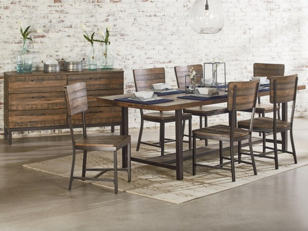 Magnolia Home By Joanna Gaines Industrial Dining Room Group