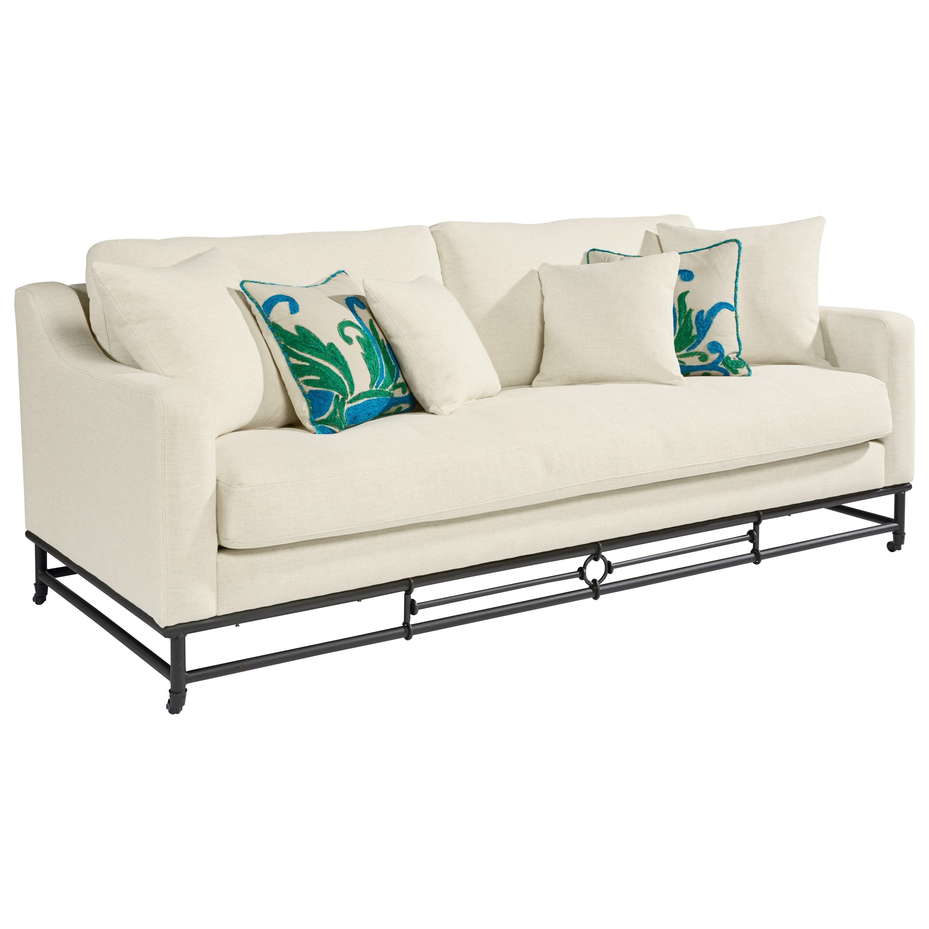Magnolia Home By Joanna Gaines Ironworks Sofa   Hudsonu0027s Furniture   Sofas