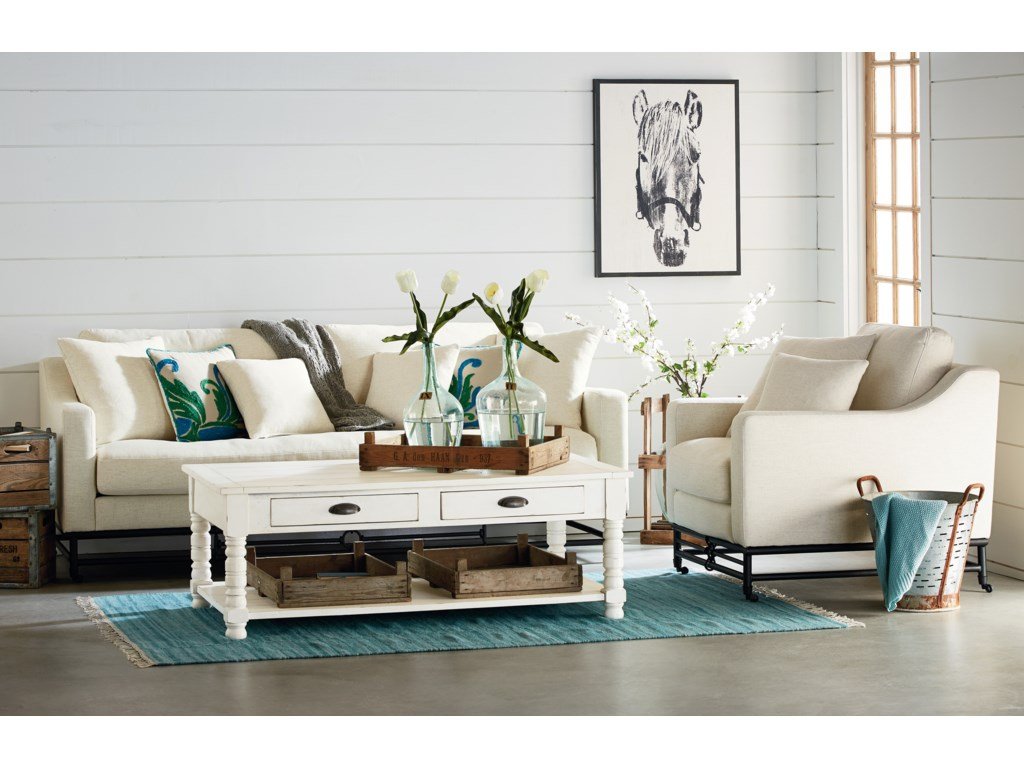 Magnolia Home By Joanna Gaines Ironworks Living Room Group
