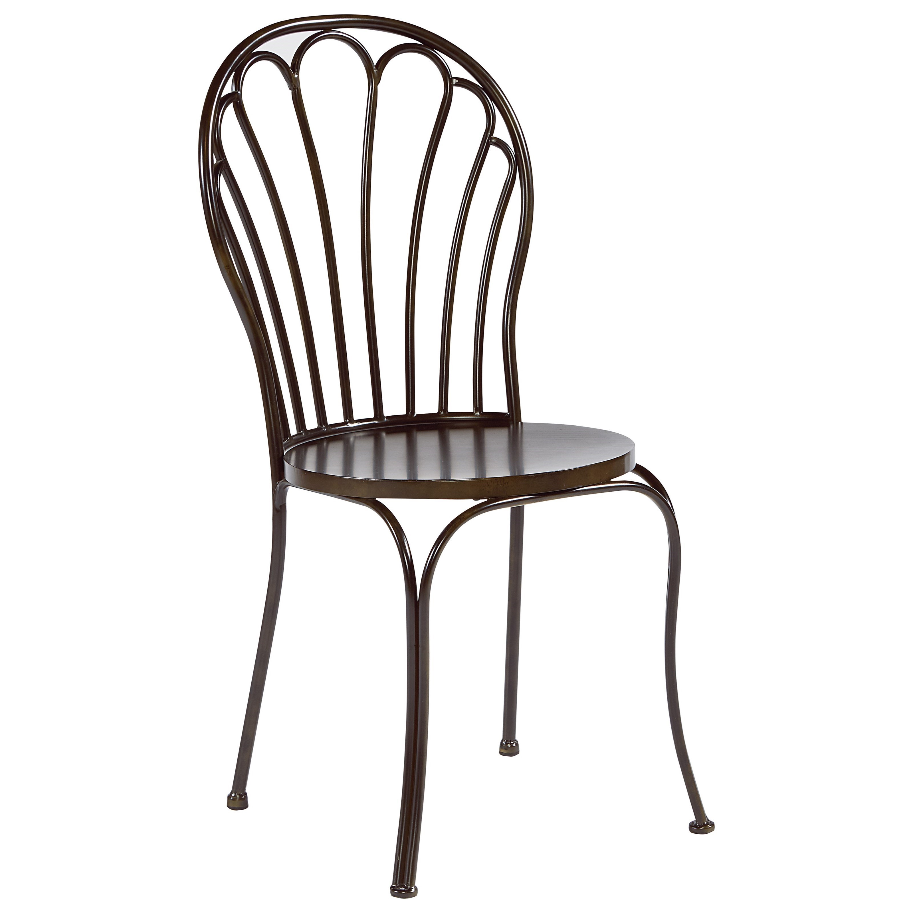 Magnolia Home By Joanna Gaines Primitive Metal Peacock Chair   Hudsonu0027s  Furniture   Dining Side Chairs