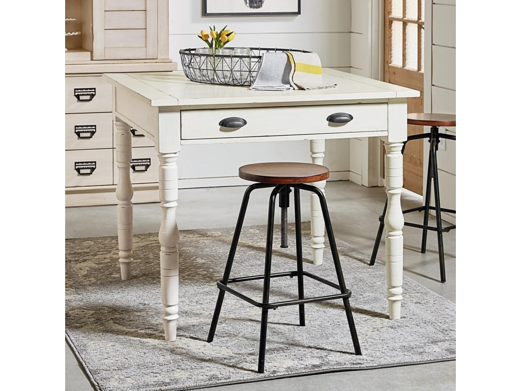 Magnolia Home by Joanna Gaines PrimitiveTaper Turned Gathering Table
