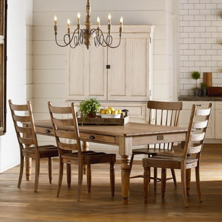 Primitive Dining Room Group