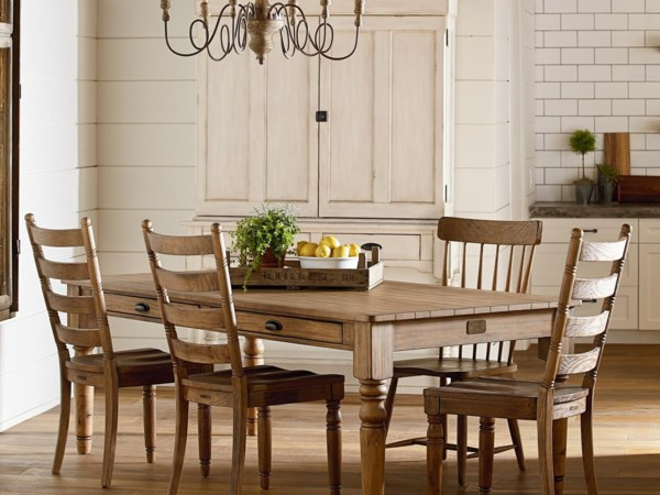Magnolia Home By Joanna Gaines Primitive Dining Room Group