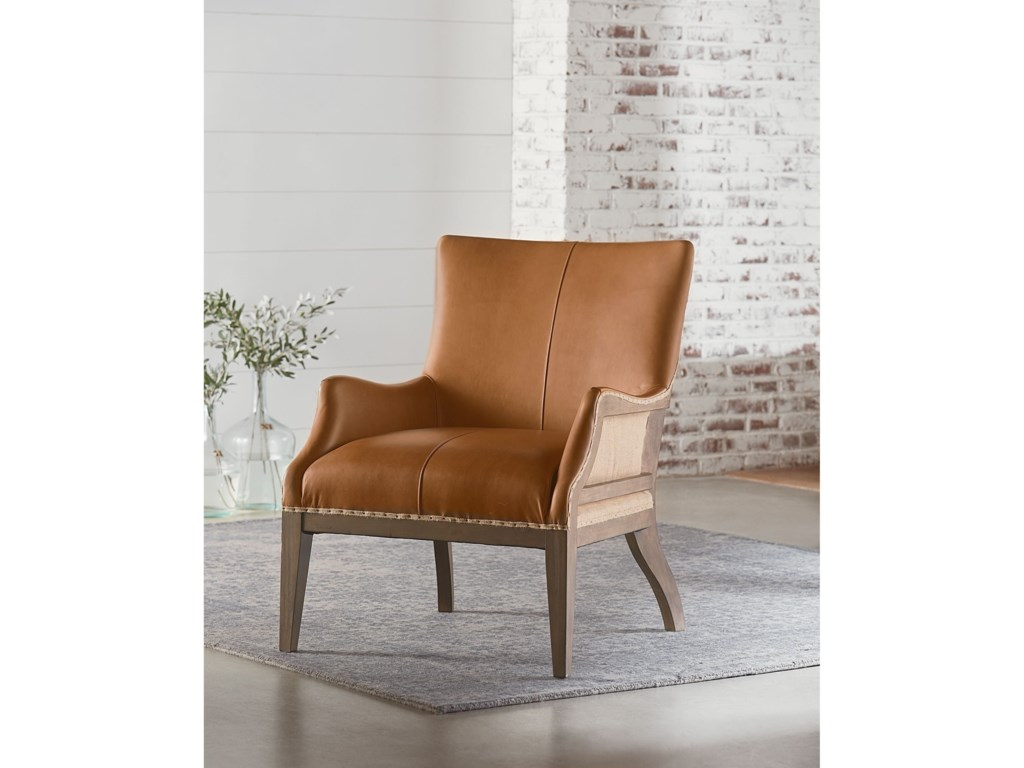 Magnolia Home by Joanna Gaines Accent ChairsAccent Chair with Kidney Pillow