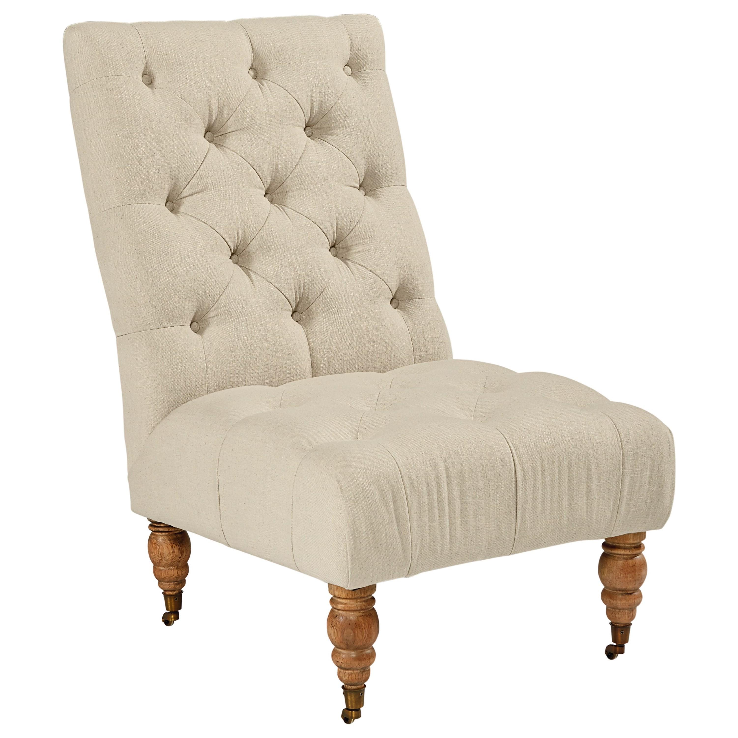 Futuristic Armless Accent Chair Creative