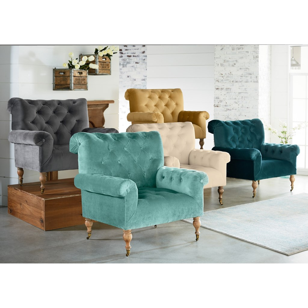 Magnolia home by joanna gaines accent chairs carpe diem upholstered piano chairs with casters zaks fine furniture upholstered chairs