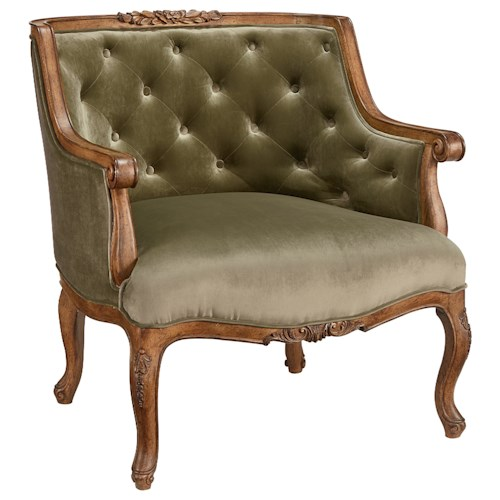 Magnolia Home by Joanna Gaines Accent Chair Bloom Upholstered Accent Chair