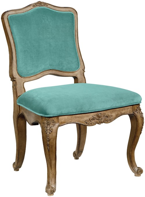 Magnolia Home by Joanna Gaines Accent Chairs Flora Wood Frame Upholstered Chair
