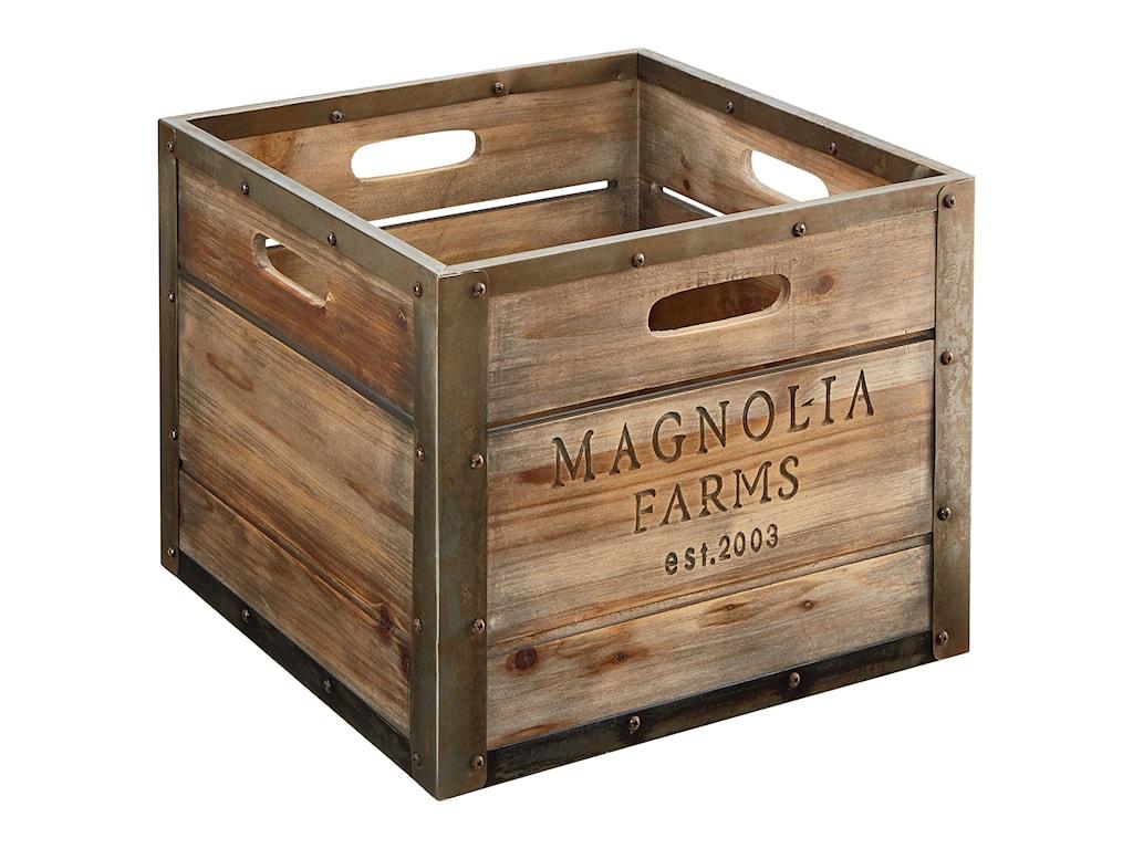 Magnolia Home by Joanna Gaines AccessoriesMagnolia Farms Produce Crate