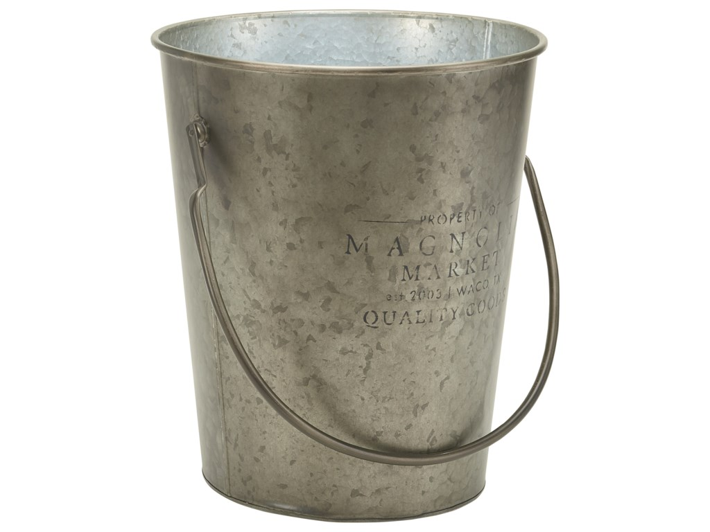 Magnolia Home by Joanna Gaines AccessoriesSmall Metal Milk Bucket
