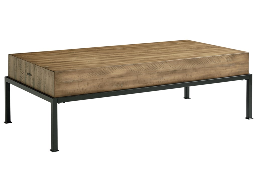 Magnolia Home by Joanna Gaines Architectural Butcher Block Coffee Table -  Great American Home Store - Cocktail/Coffee Tables - Magnolia Home By Joanna Gaines Architectural Butcher Block Coffee